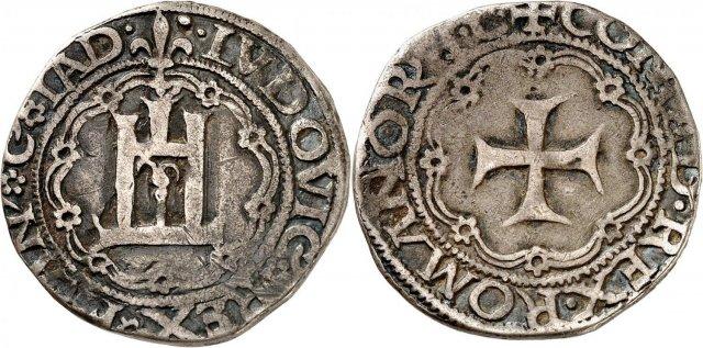 Testone o lira 1507 (Genova)