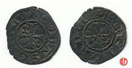 Denaro picciolo (croce patente e PVS) 1300-1400 (Ascoli)