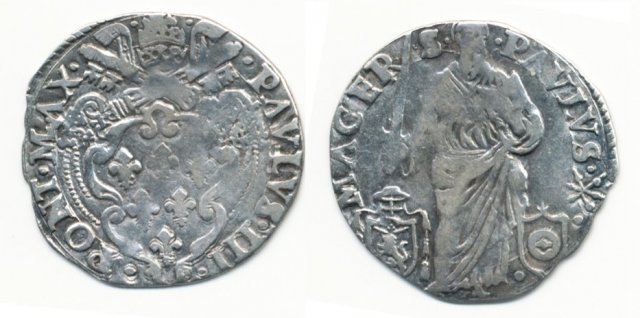 Giulio (senza data) - Spada eretta - Castelli/Degli Albizzi 1534-1549 (Macerata)