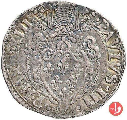 Grosso (Anno XIII - 1546-47) - Con testa 1546-1547 (Macerata)