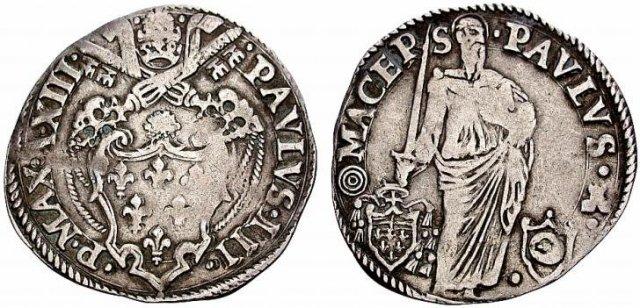 Paolo (Anno XIII - 1546-47) - Spada eretta 1546-1547 (Macerata)