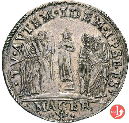 Testone (Anno XII - 1545-46) 1545-1546 (Macerata)