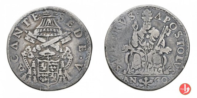Testone 1549-1550 (Ancona)