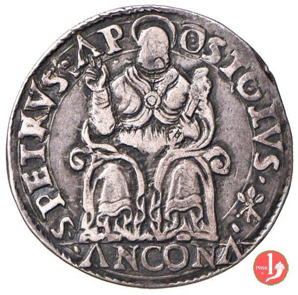 Testone (senza data - II t.) 1559-1565 (Ancona)