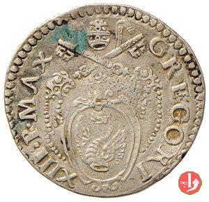 Testone (senza data - Pietro in piedi) 1 t. 1572-1585 (Ancona)