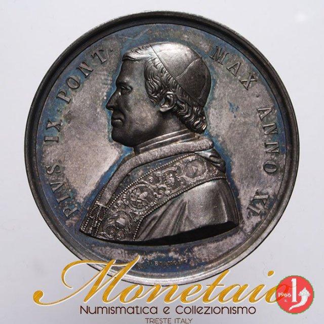 A. XI -Dogma dell'Immacolata Concezione 1856 (Roma)