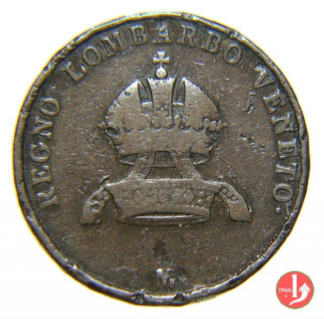 5 centesimi 1850 (Milano)