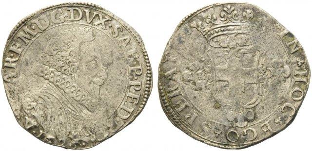 2 Fiorini IV tipo 1626 (Vercelli)