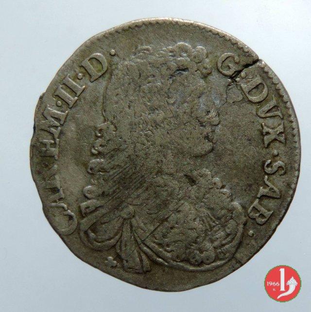 5 soldi II tipo 1668 (Torino)