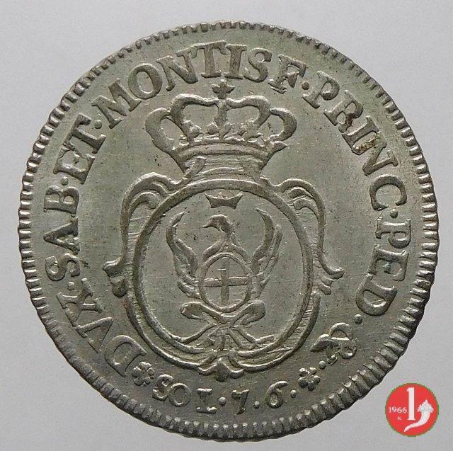 7,6 soldi 1756 (Torino)