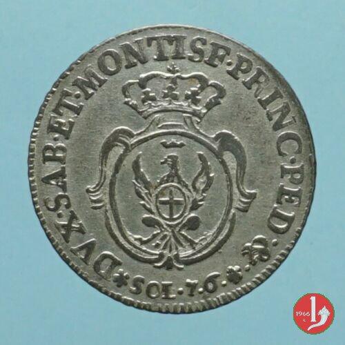 7,6 soldi 1757 (Torino)