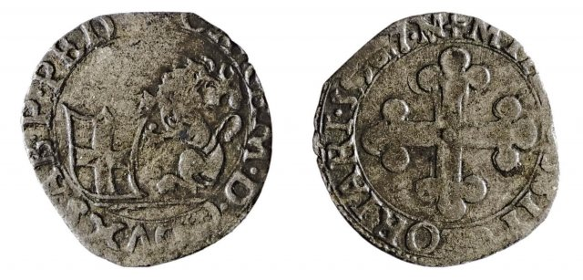 Grosso di piemonte 1587 (Nizza)