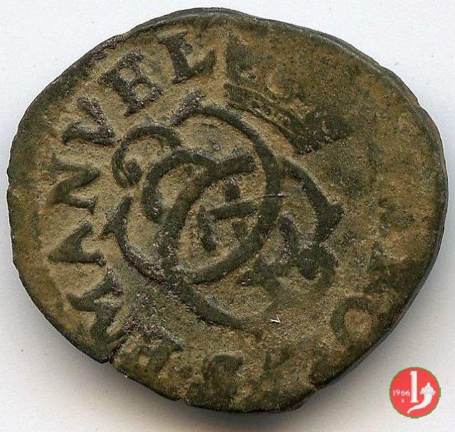 Mezzo soldo I tipo 1641 (Biella:Ivrea)