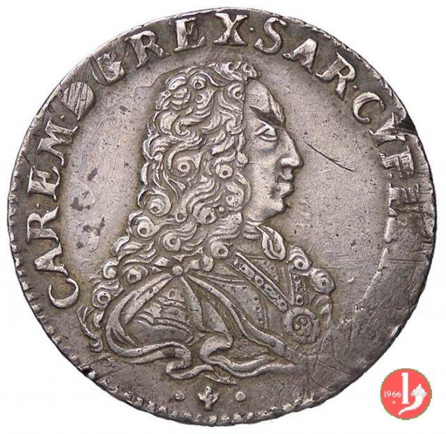 Quarto di scudo vecchio 1733 (Torino)