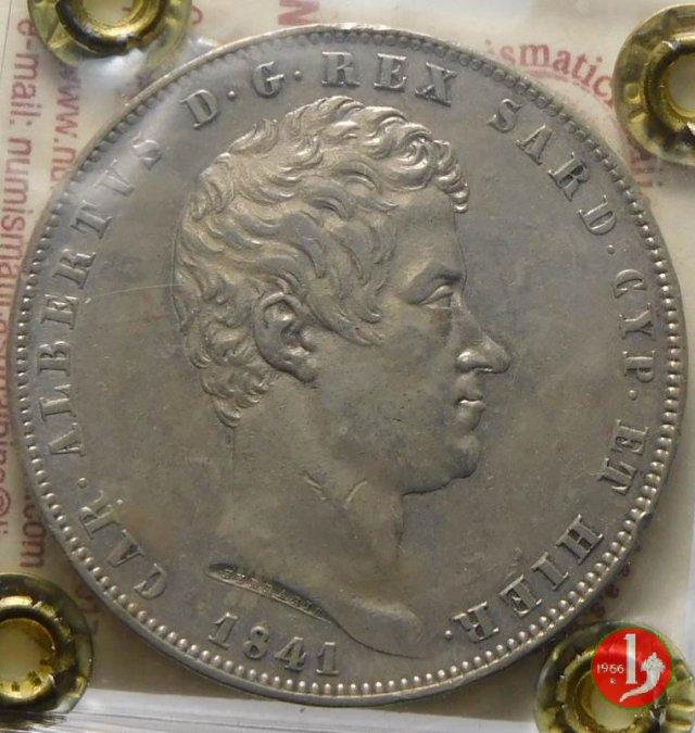 Scudo 1841 (Genova)