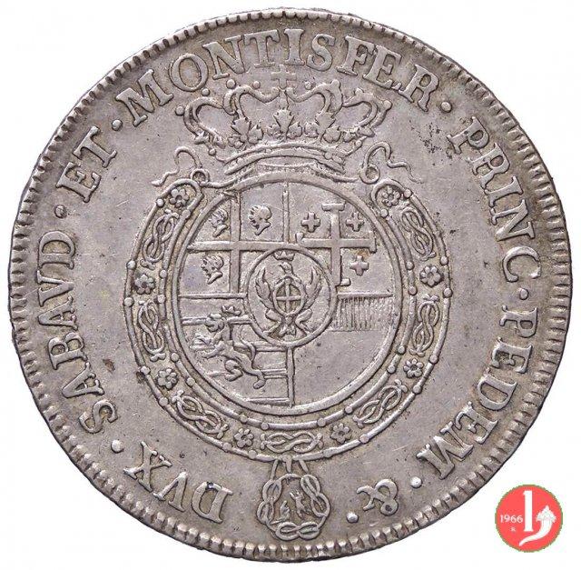 Scudo nuovo 1769 (Torino)