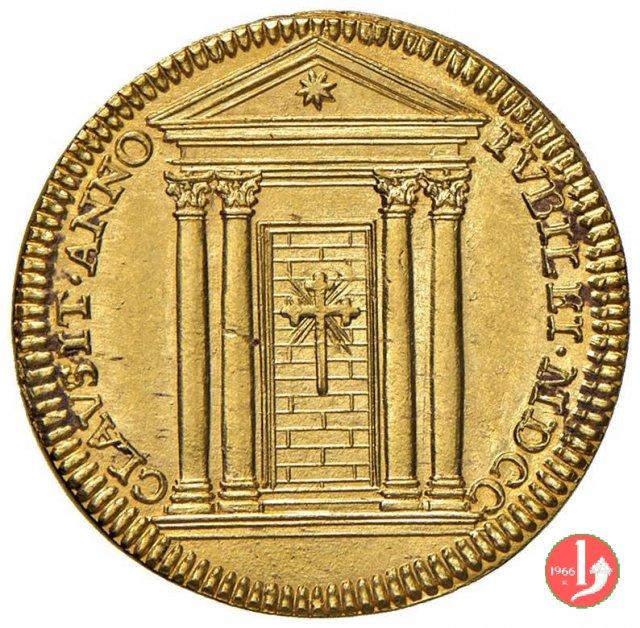Doppia CLAVSIT ANNO IVBILEI 1700 (Roma)