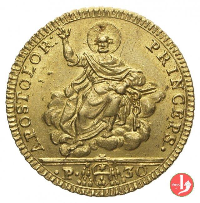 Doppia Romana o 30 Paoli 1776 (Roma)