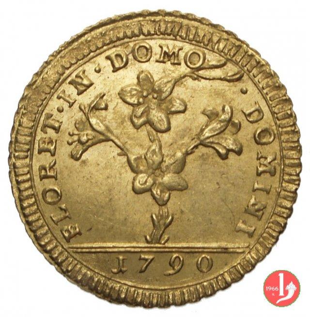 Doppia Romana o 30 Paoli 1790 (Roma)