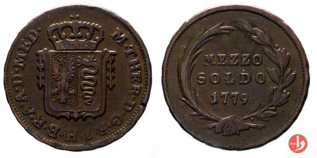 1/2 soldo 1779 (Milano)
