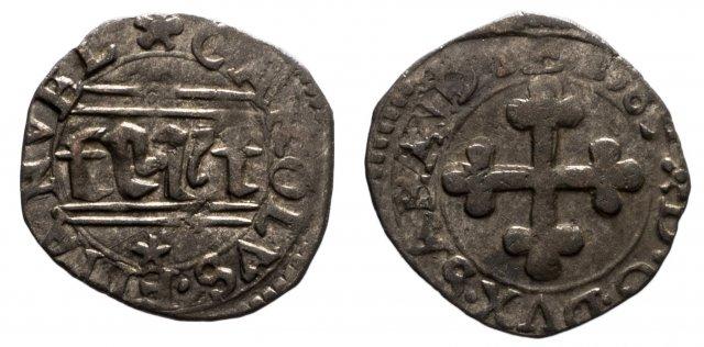 Quarto di grosso II tipo (di Savoia) 1589 (Chambéry)