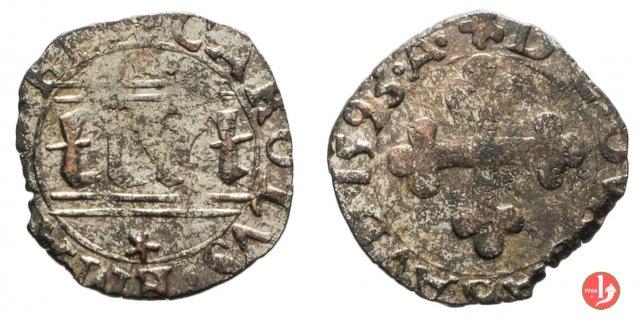 Quarto di grosso II tipo (di Savoia) 1593 (Chambéry)