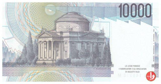 10.000 lire Alessandro Volta 1984