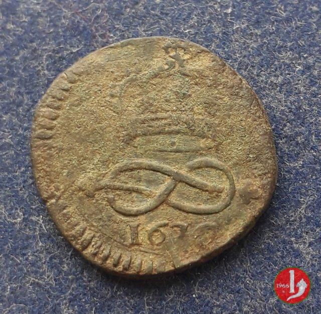 2 Denari I tipo 1676 (Torino)
