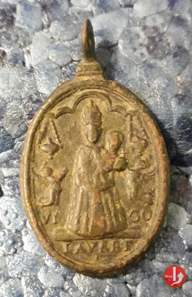 Madonna di Loreto e S. Carlo con Crocifisso 1700