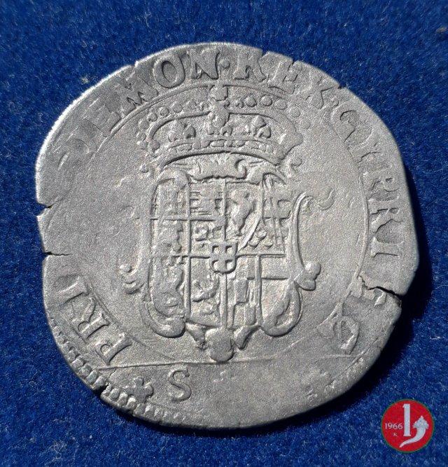Mezza lira I tipo 1652 (Torino)