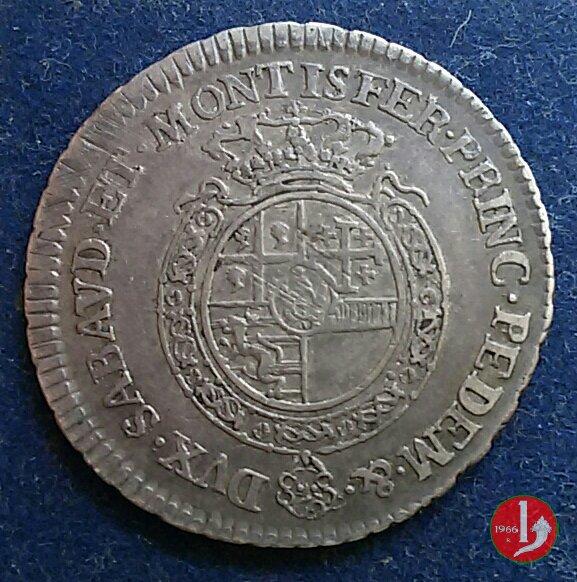 Ottavo di scudo nuovo 1756 (Torino)