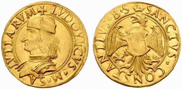 doppio ducato 1438-1504 (Carmagnola)