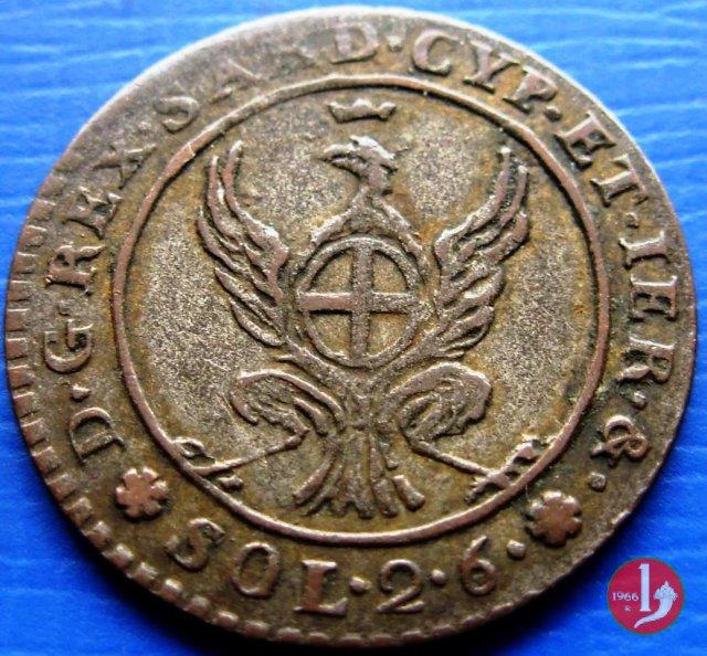 2,6 soldi 1814 (Torino)