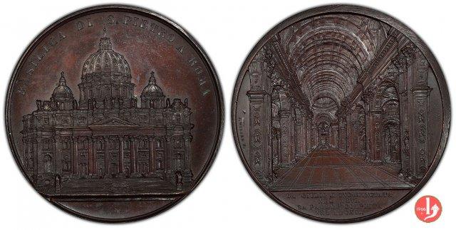 La Basilica di S. Pietro 1857