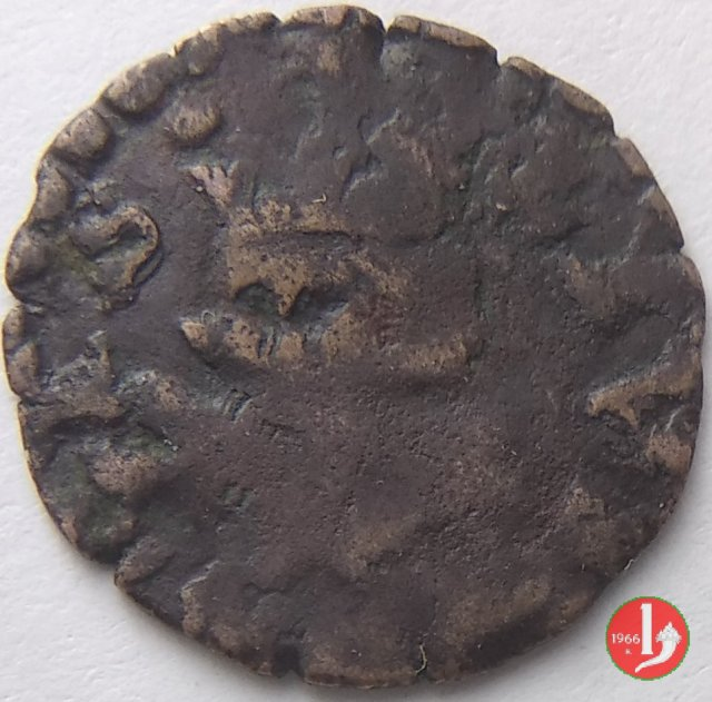 Quattrino 1662 tipo Lucca 1662 (Novellara)