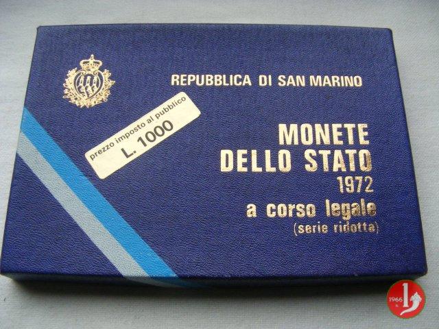 Serie divisionale 1972 1972 (Roma)