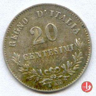 20 centesimi valore 1863 (Torino)